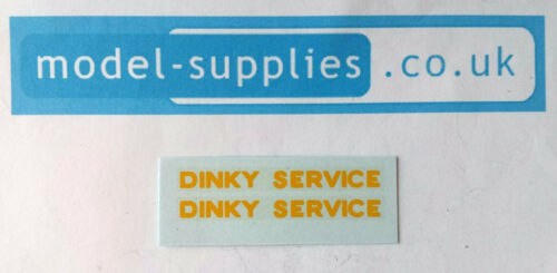 """French Dinky 35A Citroen Breakdown /""""Dinky Service/"""" Reproduction Transfer Set"""