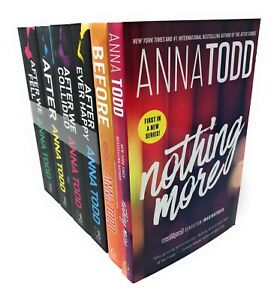 Anna-Todd-Before-And-After-Series-6-Books-Set-Collection-Nothing-More-After