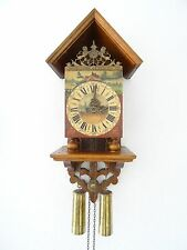 Warmink Dutch Chair Wall Clock REPAIR Vintage 8 day (Zaanse Junghans Hermle Era)