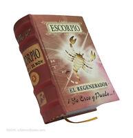 Escorpio Libro Miniatura Facil Lectura 430 Paginas Pasta Dura Coleccionable