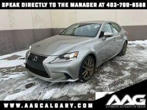 2016 Lexus IS *F Sport 3 Package* Adaptive Cruise * Remote Start