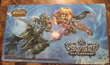 Scourgewar Ice-Crown Play-Mat WOW World of Warcraft CCG TCG