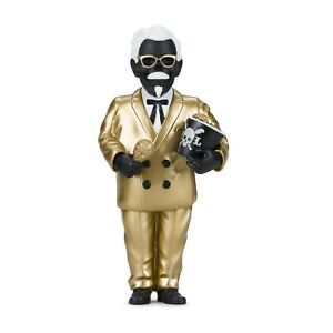 KIDROBOT-GENERAL-TSO-039-S-NIGHTMARE-Vinyl-Art-Figure-Frank-Kozik-BLACK-GOLD-Edition
