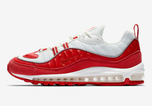Details about NIKE AIR MAX 98 MENS 640744 602 UNIVERSITY RED