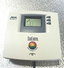 New Steca 0301U Solar Hot Water Control: LCD Display, Power Cord, and 2 sensors