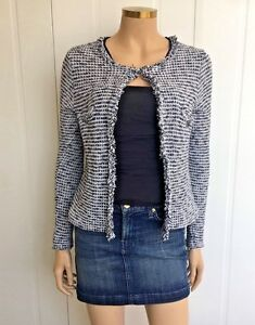 With Jacket Buttons 10 Diamanté Uk Beautiful Animale Size Tweed AExnq7qP