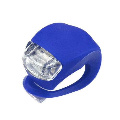 Brillant Waterproof SILICON Bicycle Light LED Front Light Rear Tail Lamp DI