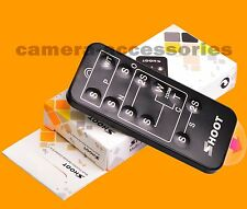 Wireless IR Infrared Remote Control for Canon EOS 7D 6D 5D Mark II III IV 5DS R