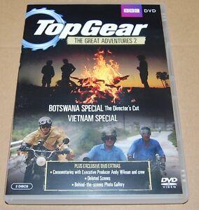 TOP-GEAR-The-Great-Adventures-Vol-2-DVD-2011-2-Disc-Set-BOTSWANA-VIETNAM