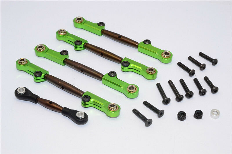 Axial Yeti Upgrade Parts Spring Steel Completed Anti-Thread Tie Tie Tie Rod - Green d332a3