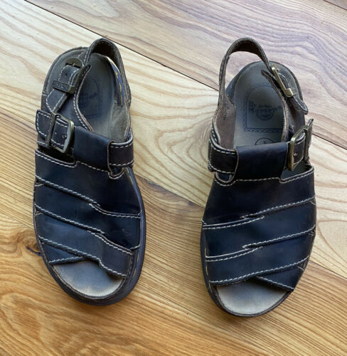 woman's vintage dr. martens sandals size 7