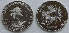 Kokosinseln / Cocos (Keeling) Islands 20 Cents 2004 unz.