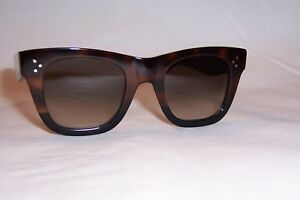 537fac39be0e NEW CELINE SUNGLASSES 41089 S AEA-Z3 HAVANA BLACK BROWN AUTHENTIC
