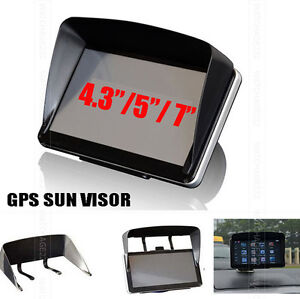 SUN-SHADE-ANTI-GLARE-VISOR-FOR-4-3-034-5-034-7-034-INCH-GPS-SAT-NAV-SCREEN-SHIELD-FRAME