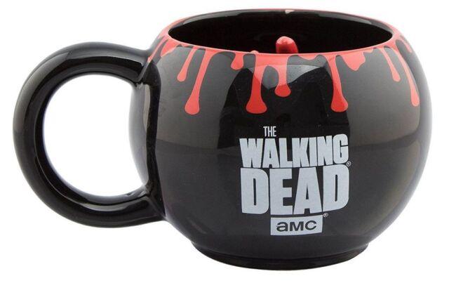 Taza Oficial The Walking Dead Con Mano Zombie Twd Walker Mano 3D Mug