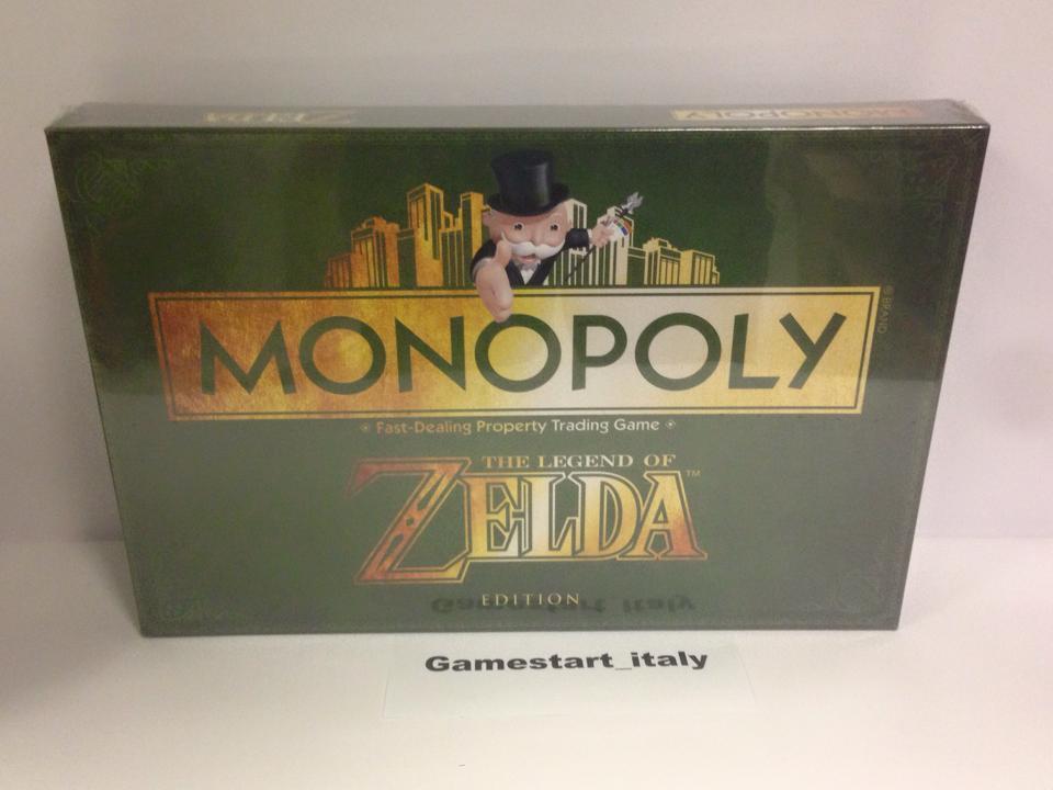 MONOPOLY MONOPOLI THE LEGEND OF ZELDA EDITION - BOARDGAME - NUOVO SIGILLATO NEW