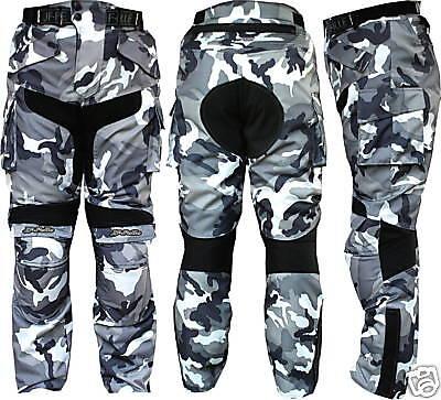 Pantalone Moto in Cordura JF-Pelle 3132 B\N Mimetico