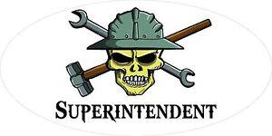 3-Superintendent-Skull-Oilfield-Roughneck-Hard-Hat-Helmet-Sticker-H311