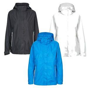 Trespass-Womens-Waterproof-Jacket-Hooded-Raincoat-Ladies-Size-XXS-XXXL