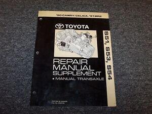 1991 toyota mr2 coupe s54 transmission shop service repair manual rh ebay com 2005 Toyota MR2 Spyder Toyota MR2 Spyder