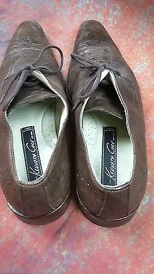 Kenneth Cole Calidad Cuero Zapatos Talla 7.5 * 9