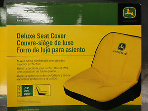JOHN-DEERE-Genuine-OEM-Deluxe-Seat-Cover-LP92634-seats-18-034-or-less-size-Large