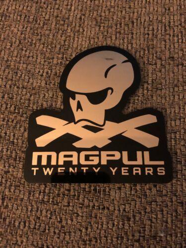 2020 Shot Show MAGPUL Twenty Years Black Gold Foil Sticker Decal