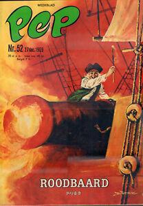 PEP-1969-nr-52-ROODBAARD-COVER-ASTERIX-DE-COOT-TERREINWAGEN-VIDOCQ