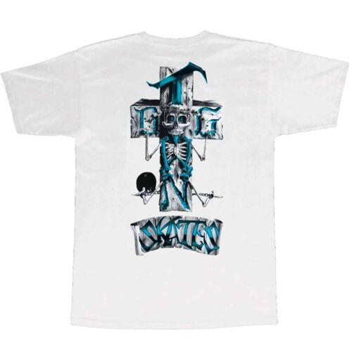 Dogtown Skateboards Stonefish Logo White  T Shirt Men's Large New