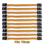10-Servo-Patch-Kabel-10cm-Patchkabel-Servokabel-Male-JR-100mm-Stecker-zu-Stecker Indexbild 1