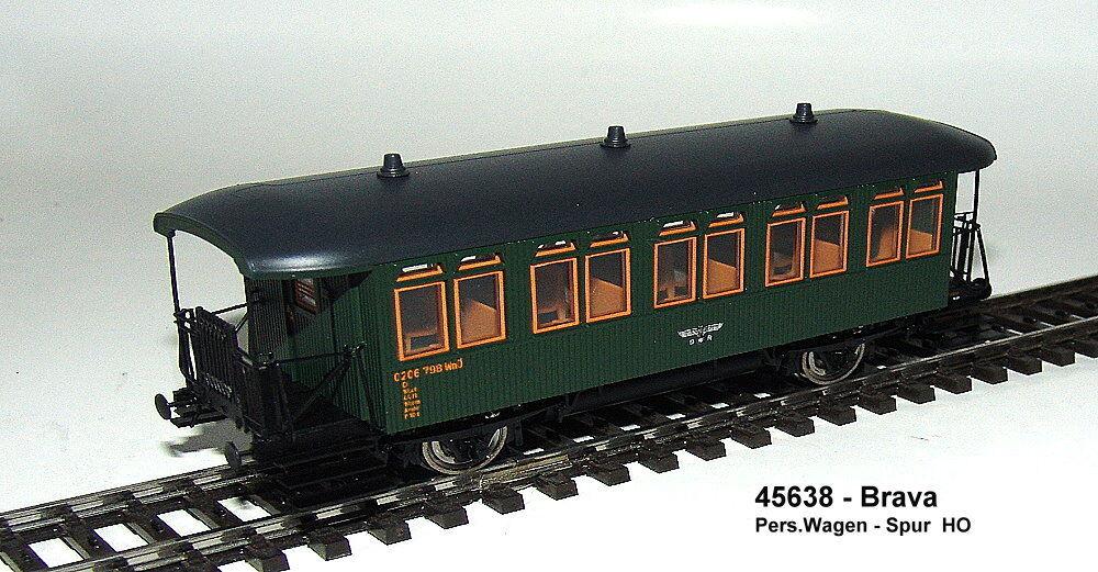Brava 45638 - Passenger Car CI the DRG - betr.no. 0206 798 wnö - DC NEW