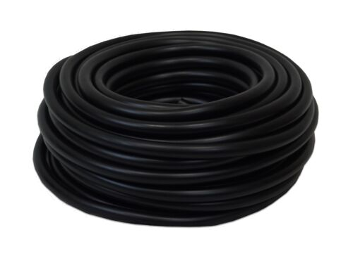 """Half Off Ponds 3//8/"""" x 300 Weighted Black Vinyl Tubing for Pond and Lake Aeration"""