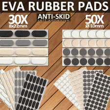 aut... color blanco Antideslizante Pads EPDM//Celular schuk diferentes tama/ños