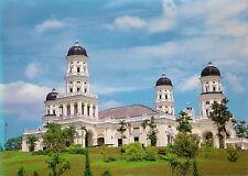 MALAYSIA POSTCARD - JOHOR ABU BAKAR MOSQUE