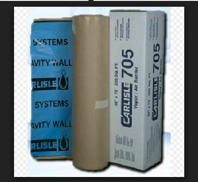 NEW CCW-705 Air & Vapor Barrier- EQUAL TO HENRY BlauSKIN- WATERBROOFING MEMBRANE