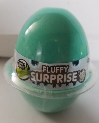 Lot of 3 We Cool Glitzi Fluffy /& Neon Surprise Egg Toy Slime Ball Surprise Charm
