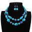 Fashion-Women-Crystal-Necklace-Bib-Choker-Pendant-Statement-Chunky-Charm-Jewelry thumbnail 82