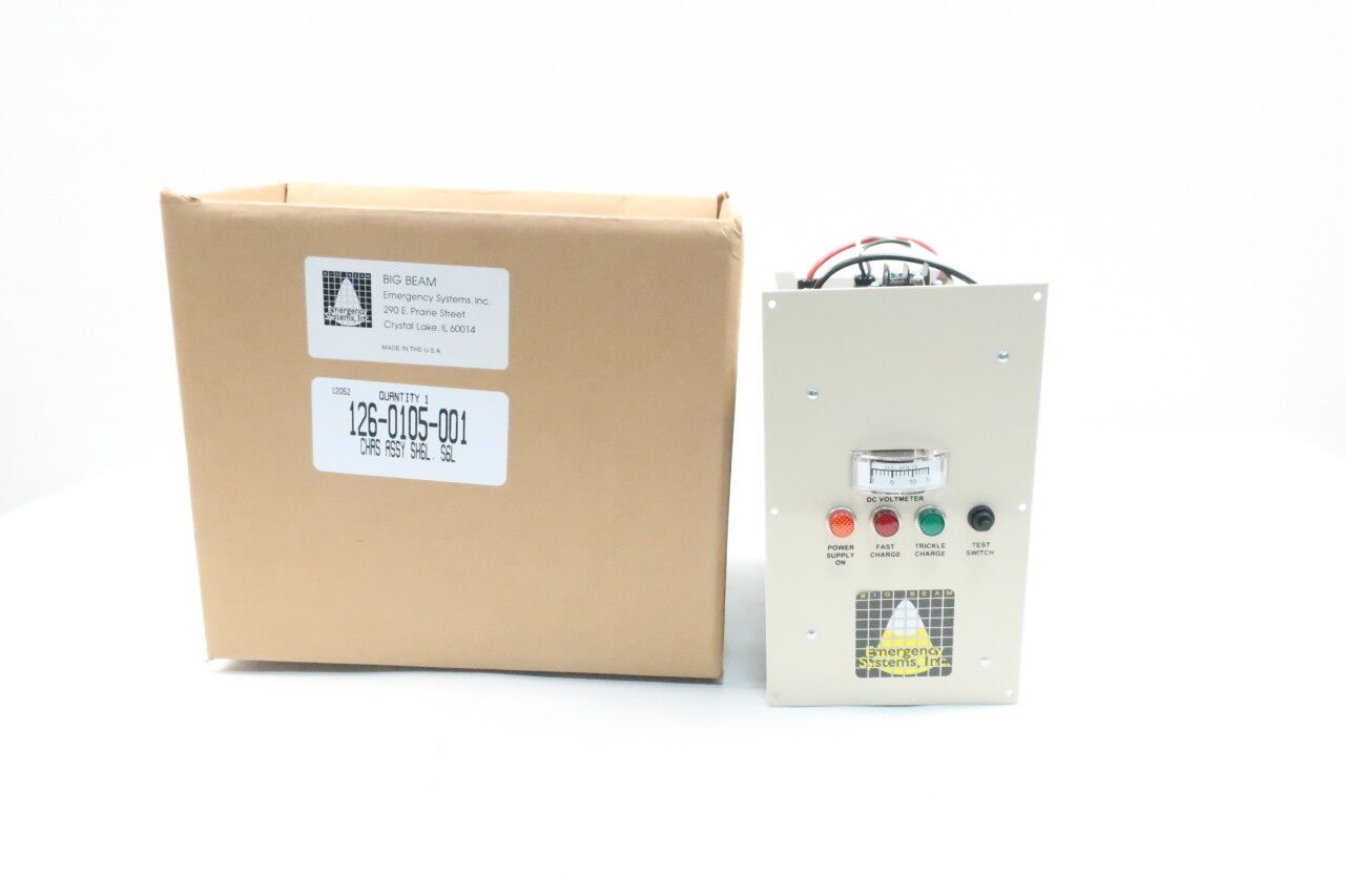 Emergency Systems 126-0105-001 Big Beam Chassis Assembly 120v-ac