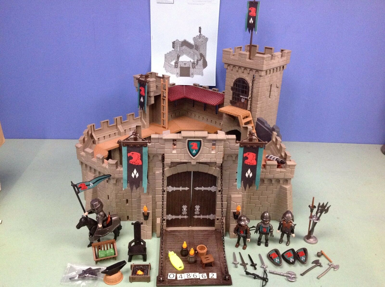(O4866.2) Playmobil château fort fort fort ref 4866 ae9d49
