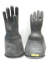 Salisbury D120 Type I Class 2 Lineman Gloves 17000v Ac Size 9