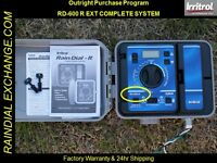 2017 - Exterior Irritrol / Hardie Rain Dial Rd-600 R / Rd-600 Ext System