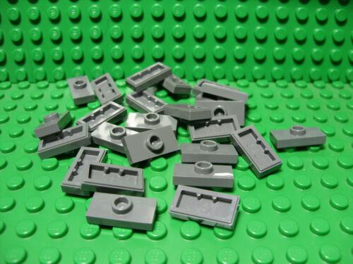 "** 25 CT LOT ** Lego NEW dark bluish gray 1 x 2 pieces /""jumper/"" pcs Lot of 25"