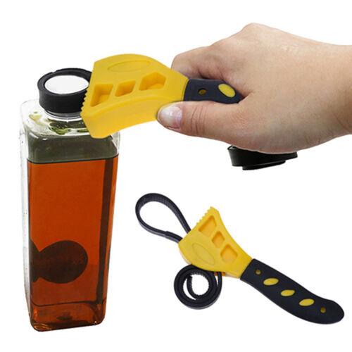 Multi-fonction réglable en caoutchouc sangle Clé Clé pour filtre à huile Réparation Automobile