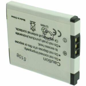 Batterie-Appareil-Photo-pour-CANON-PC1737-capacite-680-mAh