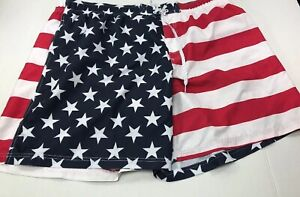 1e6983a5642ad Image is loading GEORGE-MENS-PATRIOTIC-USA-AMERICAN-FLAG-SWIM-WATER-