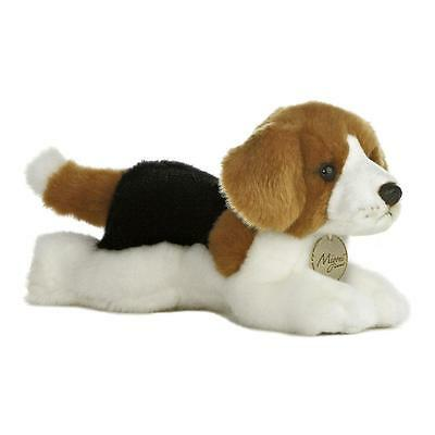 "8"" Beagle Puppy Dog Miyoni Aurora Plush Stuffed Animal Toy 10800"