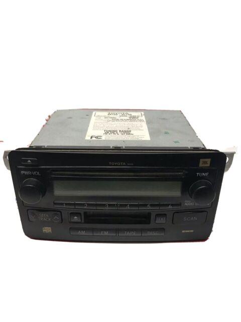2007 2008 2009 07 Toyota Tundra Jbl Radio Mp3 6 Disc Cd