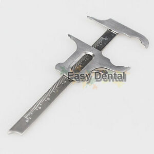 NEW-Gauges-Dental-Surgical-Endodontic-Instruments-Locking-Calipers-Ruler
