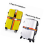 2-4-Pack-Travel-Luggage-Suitcase-Strap-Rainbow-Color-Belt-Baggage-Backpack-Bag thumbnail 5