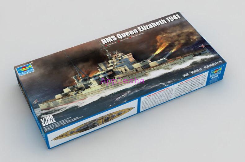 Trumpeter 05794 1 700 HMS Batleship Queen Elizabeth 1941 1941 1941 3d866f